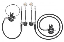 SCUBAPRO SIDEMOUNT REGULATOR SET