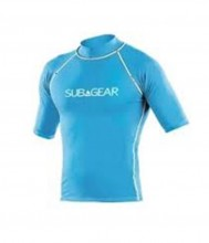 SUBGEAR RASH GUARD BLUE WAVE